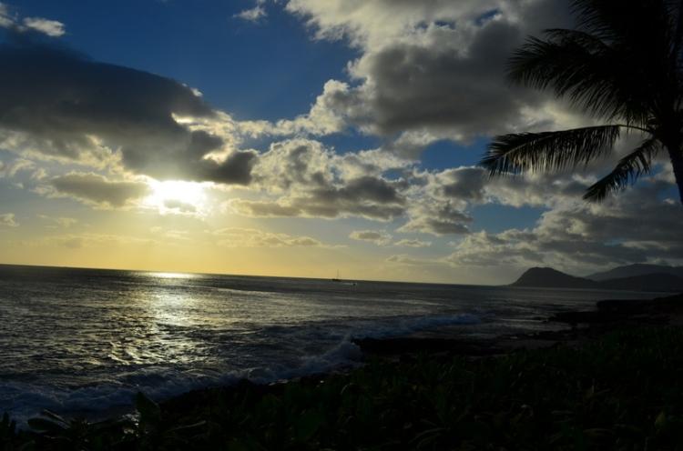 Sun Sets in Hawaii